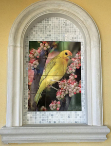 Kiln Fired Outdoor Custom Tile Mural from Photo