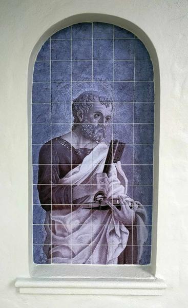 Outdoor Custom Tile Mural St-Peter