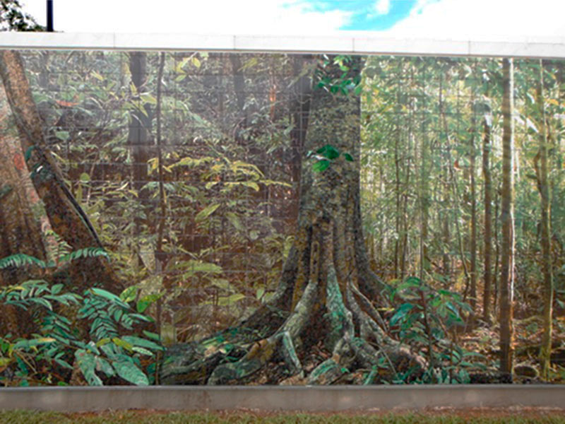 Public Art Mural Outdoor US Embassy Brazil